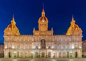 Ayuntamiento, La Coruña, España, 2015-09-25, DD 141-143 HDR
