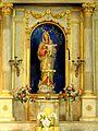 Béthisy-Saint-Pierre (60), église Saint-Pierre, chapelle sud, Vierge à l'Enfant 1.jpg