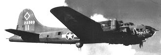 Depienne Airfield - Image: B 17F 42 3399 347th BS Rangy Lil