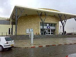 Beersheba Center Railway Station