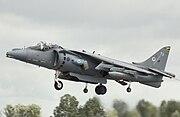 BAe Harrier GR9 ZG502 landing arp