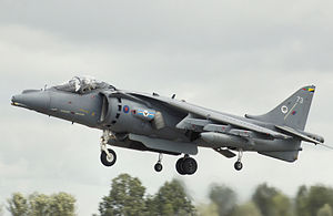 V/STOL - RAF Harrier GR9 arrives at RIAT 2008
