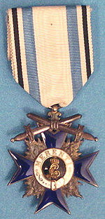 Military Merit Order 4th Class with Swords