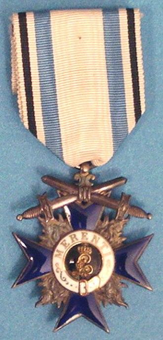 Military Merit Order (Bavaria) - Military Merit Order 4th Class with Swords