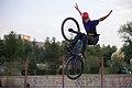 BMX Rider In Iran- Qom city- Alavi Park 13.jpg