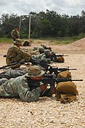 BSAG soldiers shoot