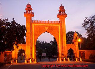 Aligarh City in Uttar Pradesh, India