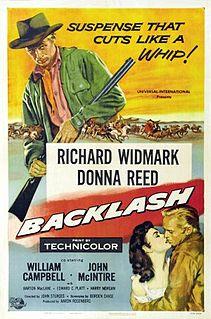 <i>Backlash</i> (1956 film) American Western starring Richard Widmark