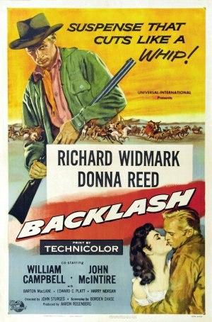 Backlash (1956 film) - Image: Backlash Film Poster