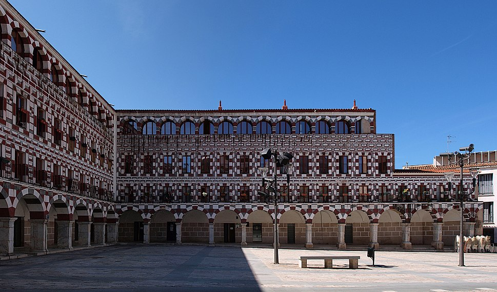 Badajoz, Plaza Alta 25p-2h
