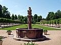 Baden Sightseeing-Tour, Brunnen beim Schloß Favorite bei Förch - Rastatt - panoramio (1).jpg