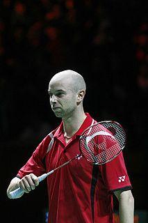 Robert Blair (badminton) Badminton player
