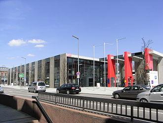 Memmingen station - The new station building
