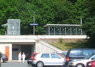 Velbert-Neviges station railway station in Neviges, Germany