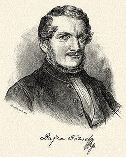 József Bajza Hungarian writer