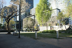 Balfour Street Park - Image: Balfour Street Pocket Park