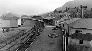 Ballater railway station - Ballater railway station in 1961