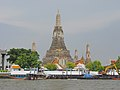Bangkok along the Chao Phraya and Wat Arun (14881617299).jpg