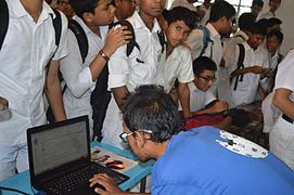 Bangla Wikipedia School Program at Chittagong Collegiate School (36).jpg