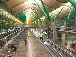 Stirling Prize - Barajas Airport Terminal 4 Interior, Richard Rogers Partnership, 2006