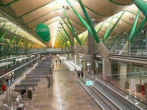 Stirling Prize - Barajas Airport Terminal 4 Interior, Richard Rogers Partnership, 2006