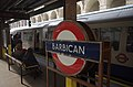 Barbican tube station MMB 06.jpg