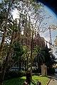 Barcelona - Carrer de Provença - View SSW on La Sagrada Família - Nativity façade.jpg