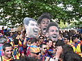 Barcelona fans - Champions league 2015 Berlin.JPG