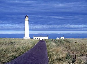 Charles Alexander Stevenson - Barns Ness lighthouse