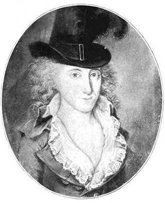 James Greenleaf - Baroness Antonia Scholten van Aschat about 1795.
