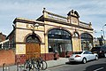 Barons Court tube station in London, spring 2013 (1).JPG