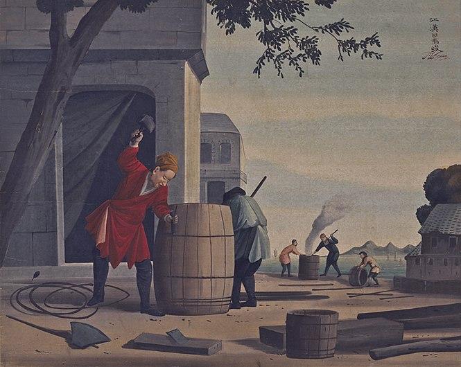 Barrel-makers by Shiba Kokan.jpg