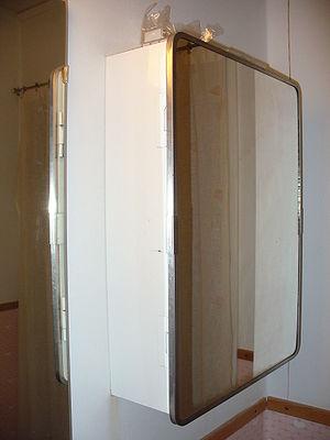Bathroom cabinet - A bathroom cabinet