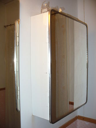Bathroom - A bathroom cabinet