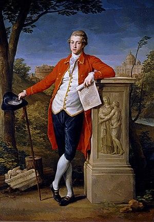 Westmorland (ship) - Image: Batoni Francis Basset, 1st Baron de Dunstanville