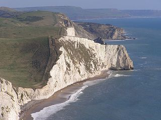 Swyre Head, Lulworth cliff in the United Kingdom