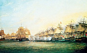 Battle of Trincomalee - Image: Battle Of Trincomalee By Serres
