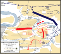 Battle of Prague, 6 May 1757 - Attempted envelopment.png