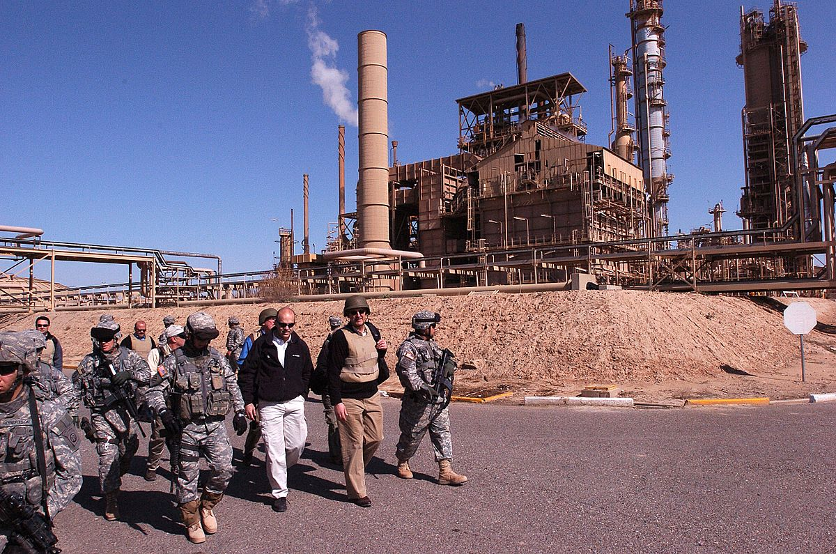 Baiji oil refinery - Wikipedia