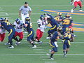 Bears on offense at Arizona at Cal 2009-11-14 6.JPG