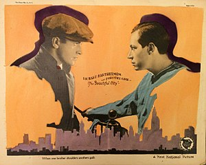 The Beautiful City (1925 film) - Lobby card
