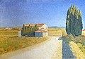 Beaux-Arts de Carcassonne - Le relais 1909 - Achille Laugé 50.8x71.12.jpg