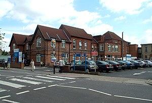 Beckenham Hospital. Located in Croydon Road an...