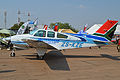 Beech B55 Baron 'ZS-KZE' (16761784178).jpg