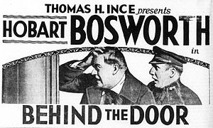 Behind the Door (film) - Newspaper advertisement