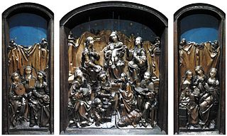 Triptych of the Saint Virgins