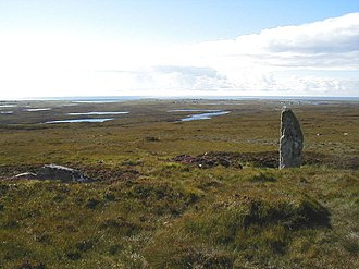 South Uist - The neolithic monument at Beinn A' Charra