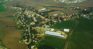 Beit Hilkia - Image: Beit Hilkia Aerial View