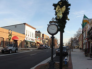 Bel Air, Harford County, Maryland - South Main Street
