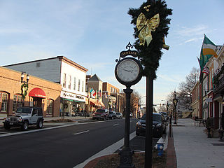 Bel Air, Harford County, Maryland Town in Maryland